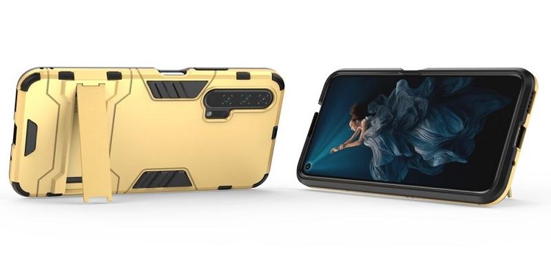 "Maskice za Huawei  Honor 20 Pro ""Impact X"" - zlatne boje"
